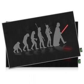Jogo Americano Geek Side Faces Evolution Darth Vader - 2 peças - Yaay