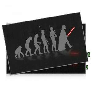 Jogo Americano Geek Side Faces Evolution Darth Vad..