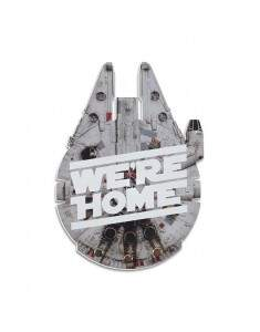 Porta Chaves Millennium Falcon We're Home - FABRICA GEEK