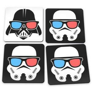 Porta Copos Porta Copos Geek Side Star Wars Impéri..
