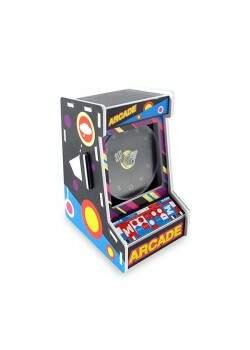 Relógio De Mesa ARCADE Geek - Mini Fliperama Aster..