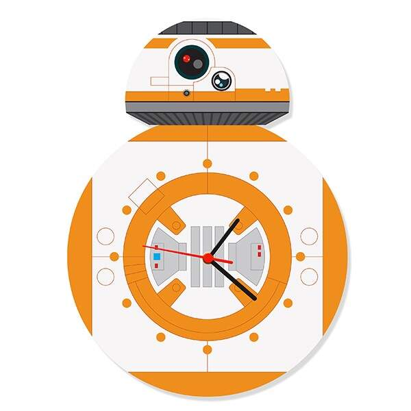 Relógio de Parede Dróide BB8 - Fábrica Geek..