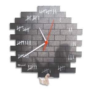 Relógio de Parede Contagem Presidiário - Fábrica Geek