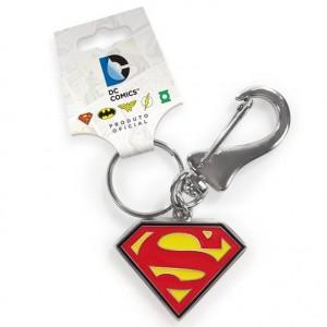 Chaveiro Metálico SUPERMAN Logo Oficial - Dc Comics - BANDUP