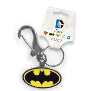 Chaveiro Metálico BATMAN Logo Oficial - Dc Comics - BANDUP