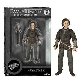 Action Figure ARYA STARK nº 9 - Legacy Collection - Escala 1/10 - Game of Thrones - FUNKO