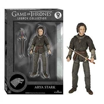 Action Figure ARYA STARK nº 9 - Legacy Collection - Escala 1/10 - Game..