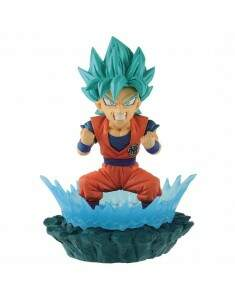 Action Figure Dragon Ball Super Diorama Wcf Goku B..
