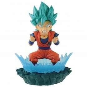 Action Figure Dragon Ball Super Diorama Wcf Goku Blue - BANDAI