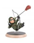 Action Figure Arqueiro Verde Q-Fig DC Comics Quantum Mechanix..