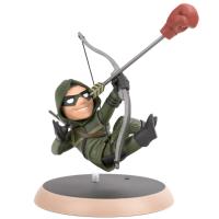 Action Figure Arqueiro Verde Q-Fig DC Comics Quantum Mechanix