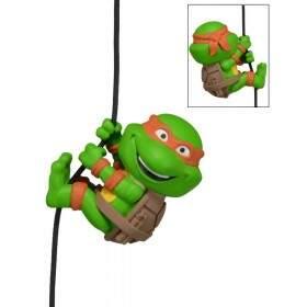 Scalers MICHELANGELO Tartarugas Ninja Teenage Mutant Ninja Turtles Produto para Colecionad..