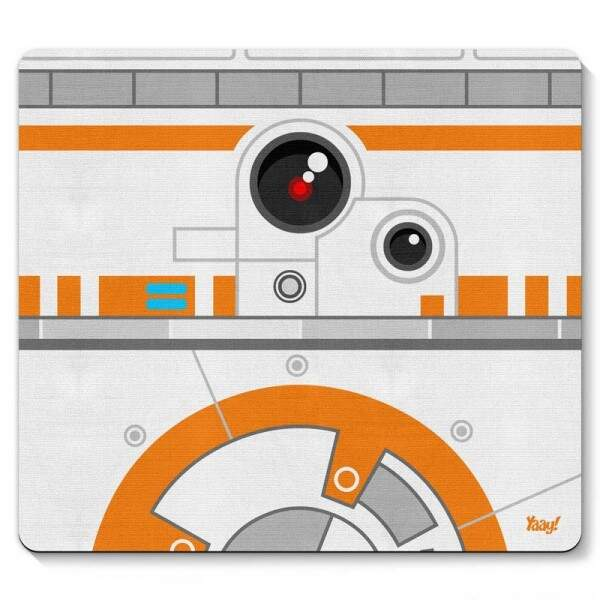 Mouse pad Geek Side Faces - BB8 - Yaay..