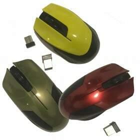 Mouse Gamer Wireless SEM FIO 1000dpi 2.4ghz -  EILONDO