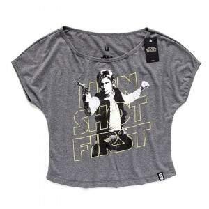Camiseta Canoa Han Solo STAR WARS Han Shot First - Produto Oficial Sta..