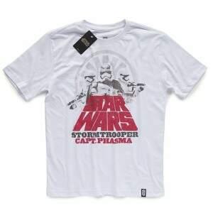Camiseta CAPTAIN PHASMA - Produto Oficial Star Wars - Branca STUDIO GE..