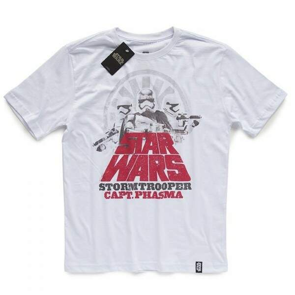 Camiseta CAPTAIN PHASMA - Produto Oficial Star Wars - Branca STUDIO GE..