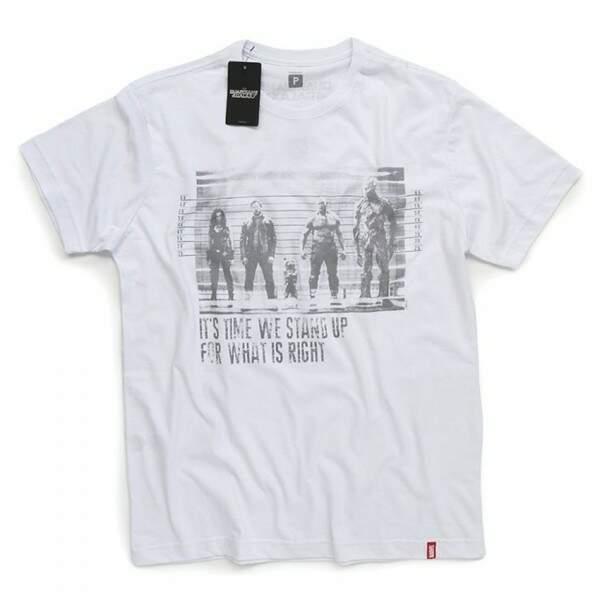 Camiseta GUARDIÕES DA GALÁXIA Prisioneiros  - Prod..