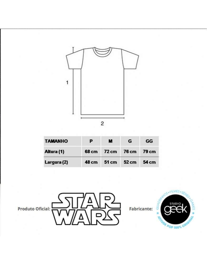 36c0b701f8 Camiseta EXPRESSIONS OF VADER - Produto Oficial Star Wars - STUDIO GEEK