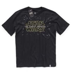 Camiseta STAR WARS VII The Force Awakens - Produto Oficial Star Wars - Cor Preta - STUDIO ..