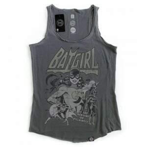 Camiseta Regata BATGIRL - Produto Oficial DC Comic..