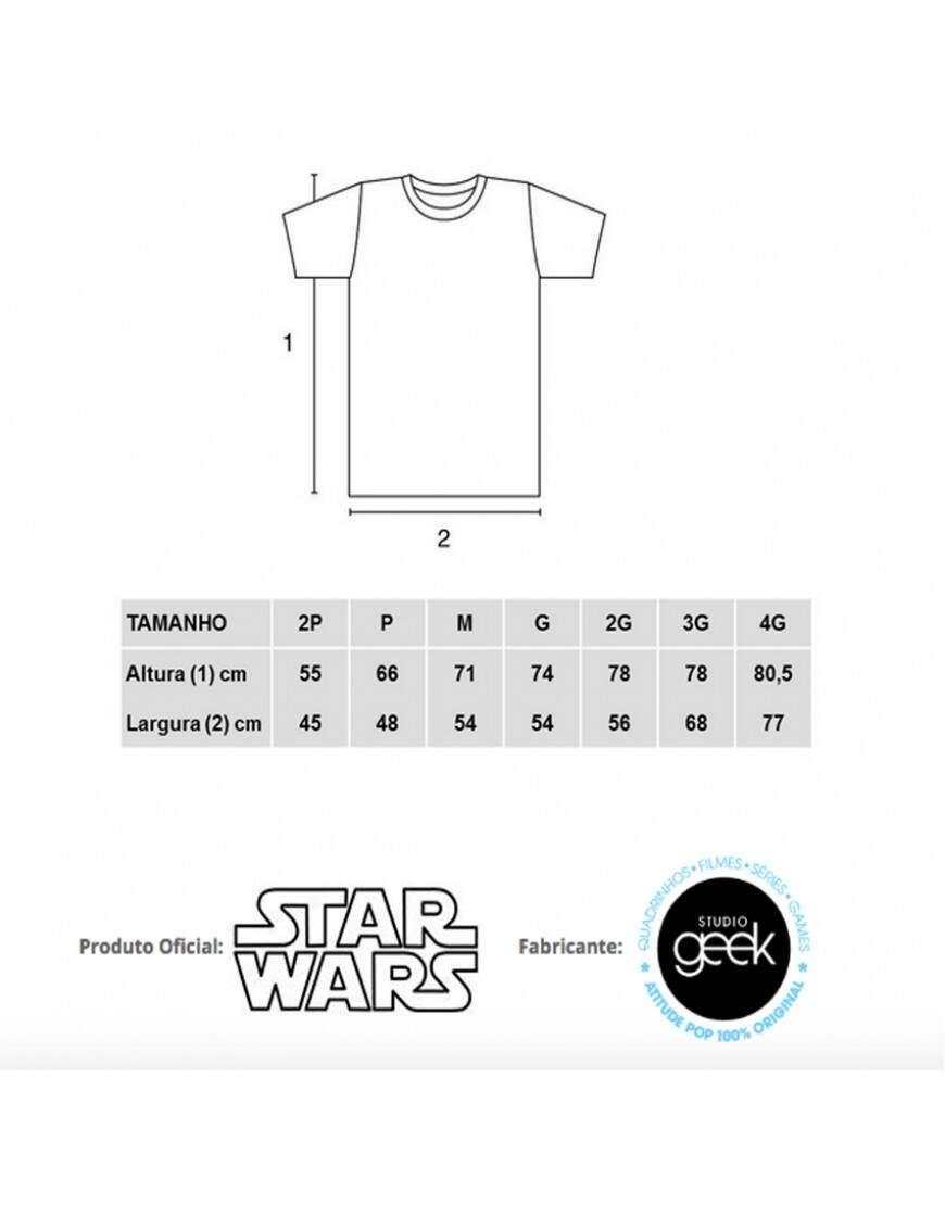 35bbe51fbc Camiseta YODA Do or Not to Do - Produto Oficial Star Wars - Cor Cinza -  STUDIO GEEK