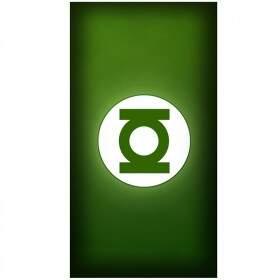 Case para Smartphone Lanterna Verde - Green Lantern - anel - UV