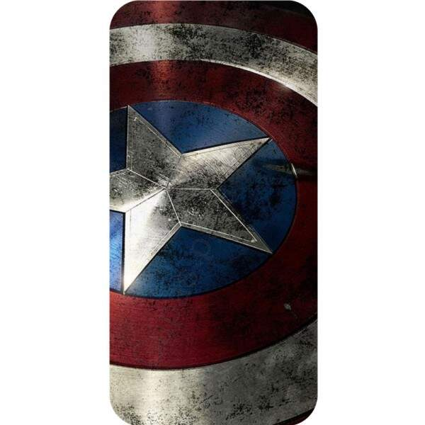 Case para Smartphone Capitão América / Captain America - escudo - UV