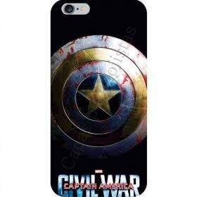 Case para Smartphone Capitão América - Captain America - Guerra Civil  - UV