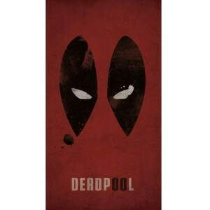 Case para Smartphone Deadpool - Olhos - UV