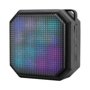 CAIXA DE SOM MINI LED SQUARE BLUETOOTH/AUX/SD 10W ..