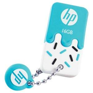 PENDRIVE MINI HP USB 2.0 V178B 16GB AZUL HPFD178B-..