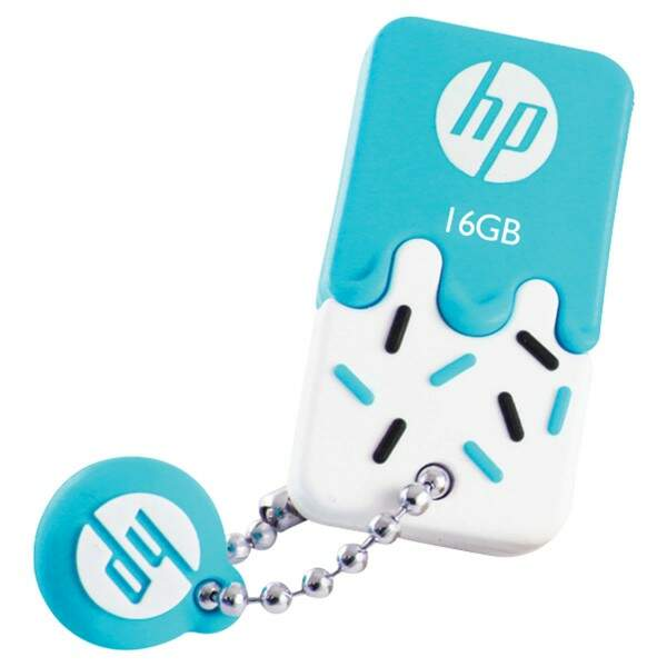 PENDRIVE MINI HP USB 2.0 V178B 16GB AZUL HPFD178B-..