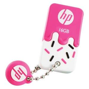 PENDRIVE MINI HP USB 2.0 V178P 16GB PINK HPFD178P-..