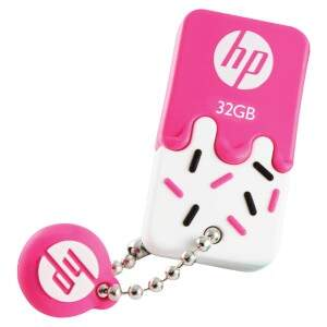 PENDRIVE MINI HP USB 2.0 V178P 32GB PINK HPFD178P-..