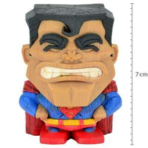 Action Figure Super Homem Teekeez Dc Comics Superm..