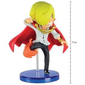 FIGURE WCF ONE PIECE BATTLE OF LUFFY WHOLE CAKE IS..