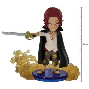 FIGURE ONE PIECE WORLD  COLLECTABLE - BURST- SHANK..